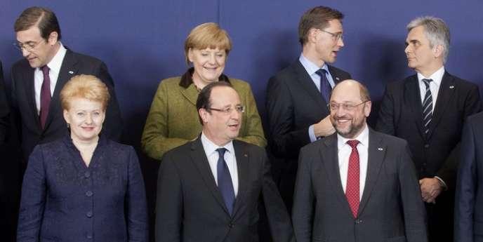 A Bruxelles, le 7 février.