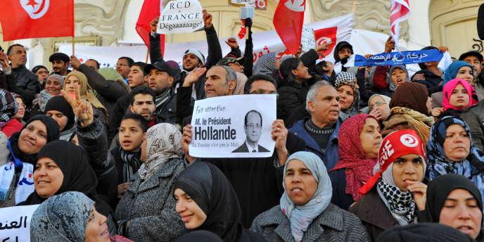 A Tunis, le 9 février.
