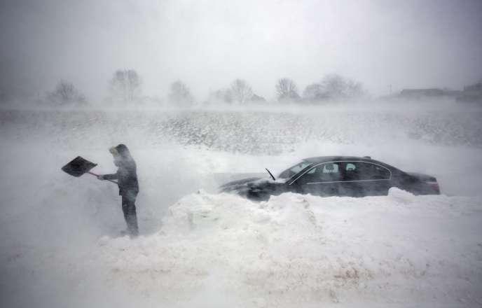 Le blizzard a fait sept morts dans le nord-est des Etats-Unis.