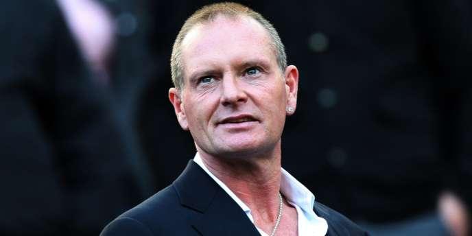 Paul Gascoigne, le 16 octobre 2011.