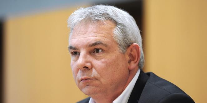 Thierry Lepaon,  le 16 janvier.