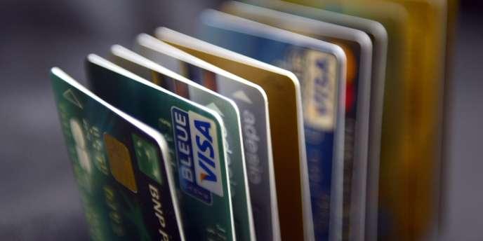 Cartes bancaires.