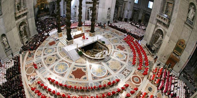 La basilique Saint-Pierre, au Vatican.
