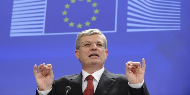 Tonio Borg, commissaire européen à la santé.