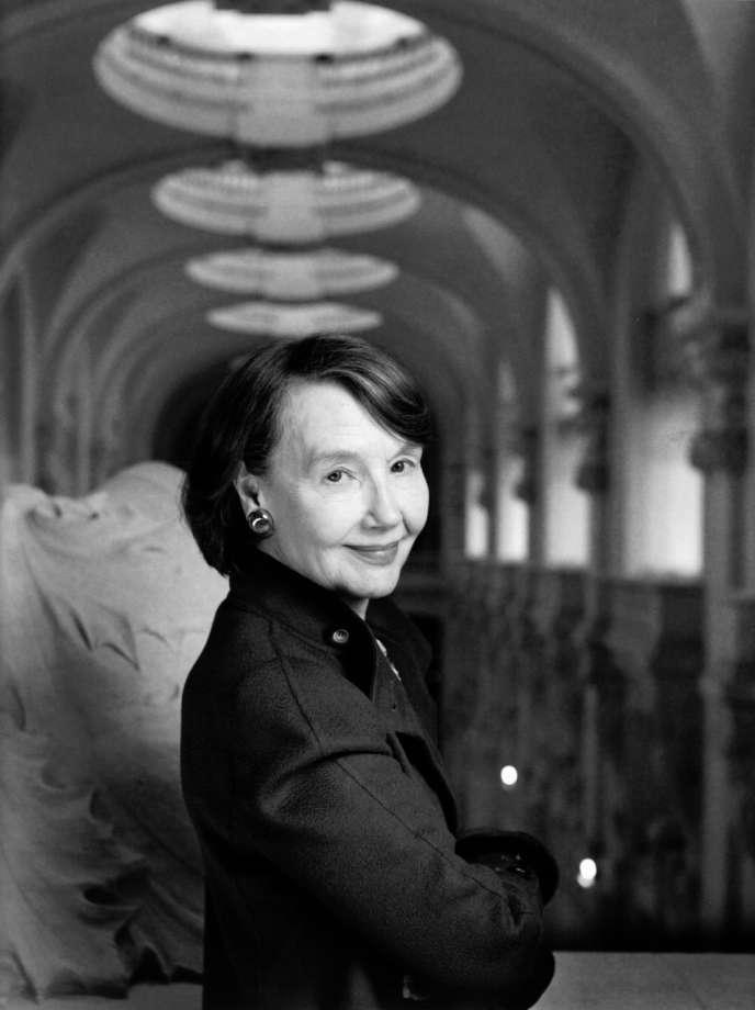 L'ancienne présidente des Musées des arts décoratifs, Hélène David-Weill.