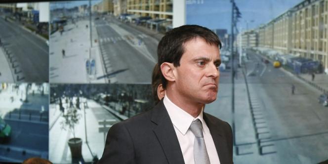 Le ministre de l'intérieur, Manuel Valls, le 8 février.