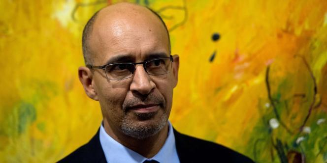 Le premier secrétaire du PS français, Harlem Désir, le 14 février, à Berlin.