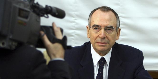 Nicolo Pollari, sur une photo d'archive datant de 2006.