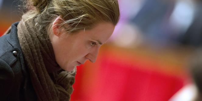 Nathalie Kosciusko-Morizet, à l'Assemblée nationale le 23 janvier. Elle s'est déjà portée candidate pour les municipales à Paris en 2014.