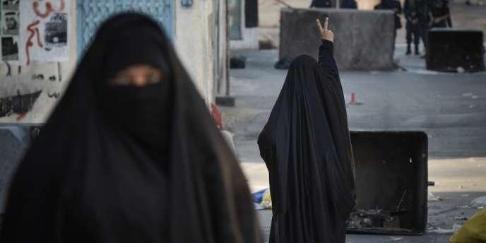 Le 14 février 2013, dans le village de Sanabis, à l'ouest de la capitale Manama.