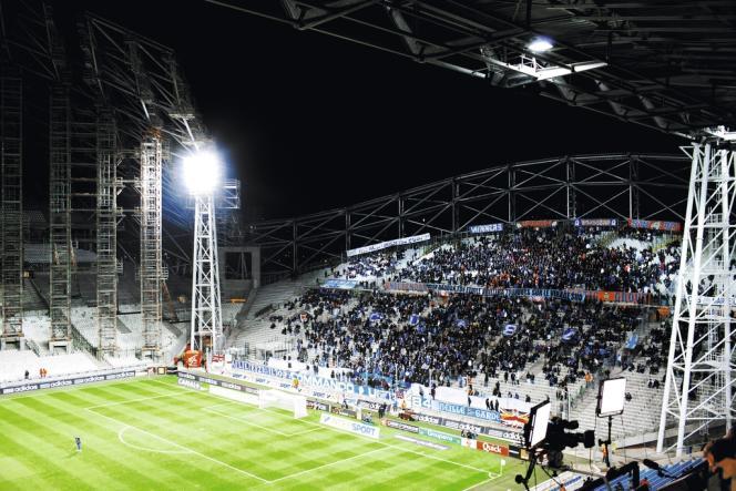 Au Stade Vélodrome, le 3 février, lors de la rencontre opposant l'OM à Nancy