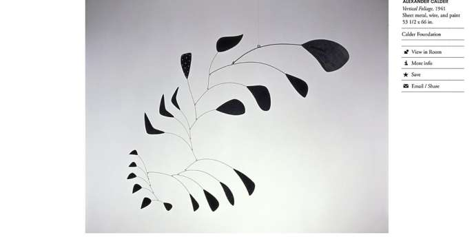 Alexander Calder/ARS, New York.