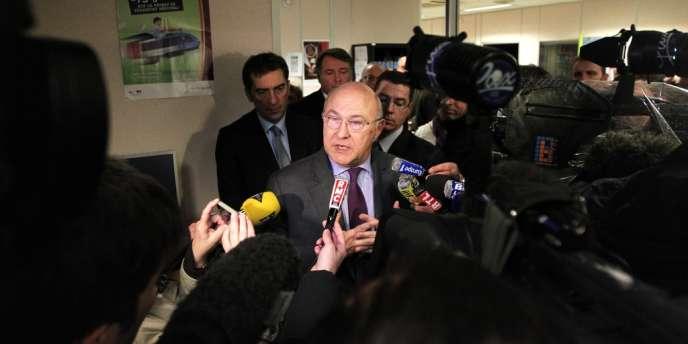 Le ministre du travail Michel Sapin, le 13 février.