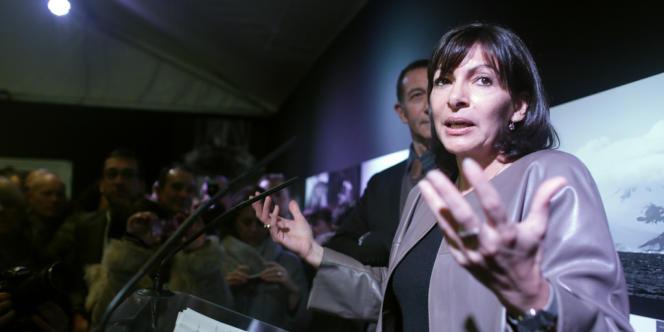 Anne Hidalgo, la première adjointe au maire de Paris, le 21 janvier.