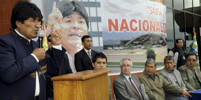 Le président bolivien Evo Morales, le 18 février.