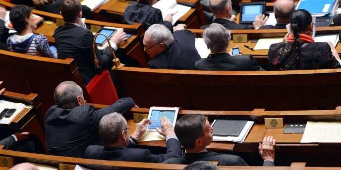 A l'Assemblée nationale, mardi 19 février.