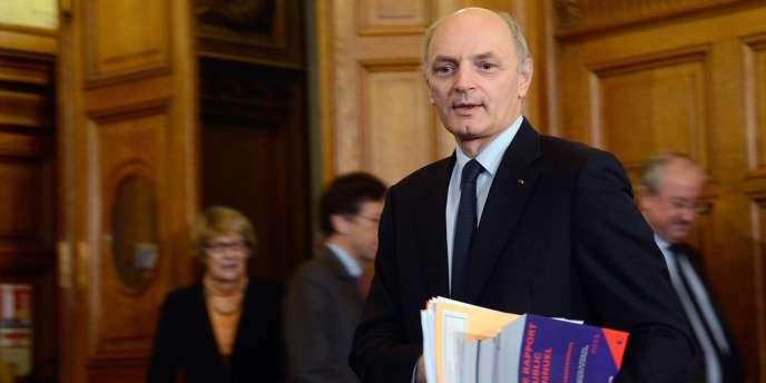 Didier Migaud, premier président de la Cour des comptes, le 12 février.