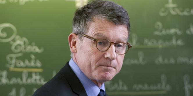 Le ministre de l'éducation nationale, Vincent Peillon, le 15 février à Bourges.