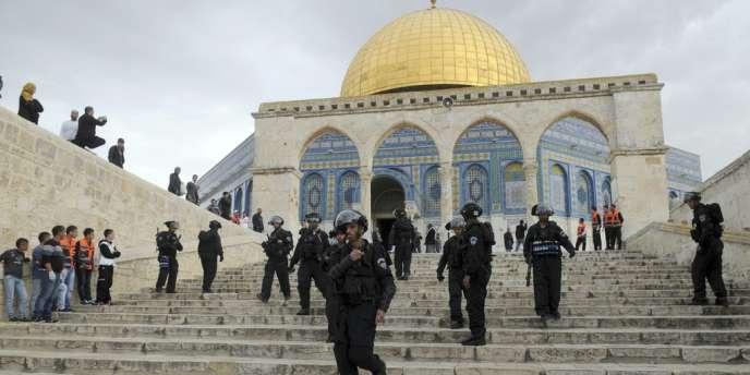 La tension est actuellement très vive en Israël, notamment autour de l'esplanade des Mosquées.
