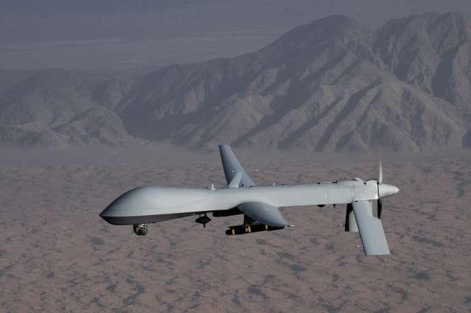 Un drone Predator de l'armée de l'air américaine.