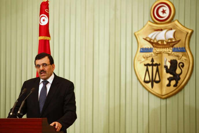 Ali Larayedh, le 22 février.