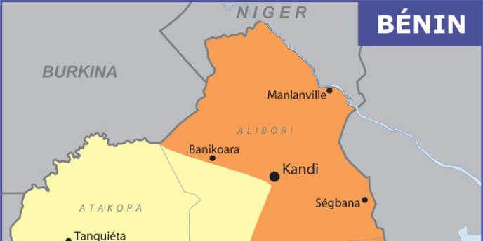 La zone nord-ouest du Bénin est