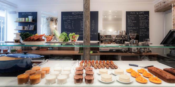 Le nouveau café Pinson, 100 % sans gluten, dans le quartier du Marais à Paris.