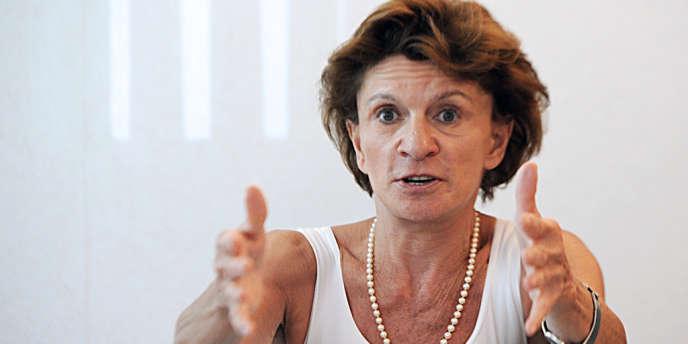 Michèle Delaunay, ministre déléguée en charge des personnes âgées et de l'autonomie.