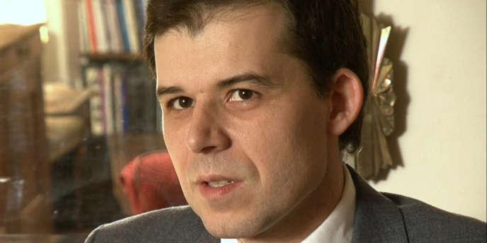 Le juge Fabrice Burgaud dans le film documentaire français de Serge Garde