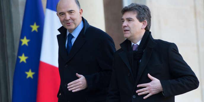 Le ministre de l'économie et celui du redressement productif ont exprimé des points de vue profondément éloignés, au lendemain des élections italiennes qui n'ont pas dégagé de majorité claire.