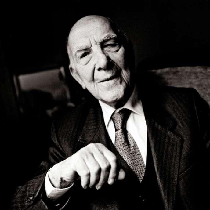 Stéphane Hessel par Richard Dumas, Paris, 2011.