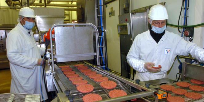 Une entreprise de transformation de viande.