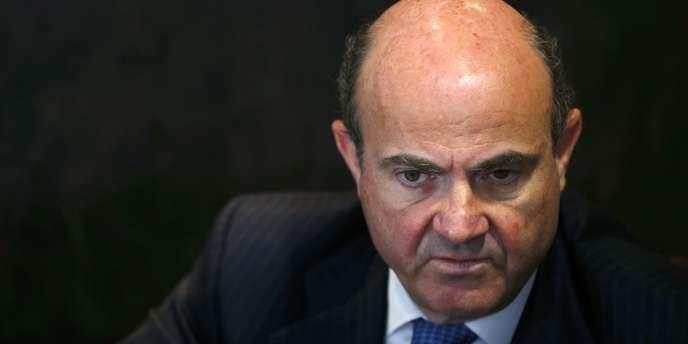 Luis de Guindos, le ministre espagnol de l'économie, croit au rebond de l'Espagne.