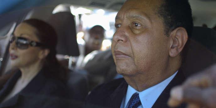L'ancien dictateur Jean-Claude Duvalier, surnommé