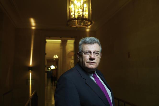 Christian Eckert, rapporteur général (PS) du budget à l'Assemblée.
