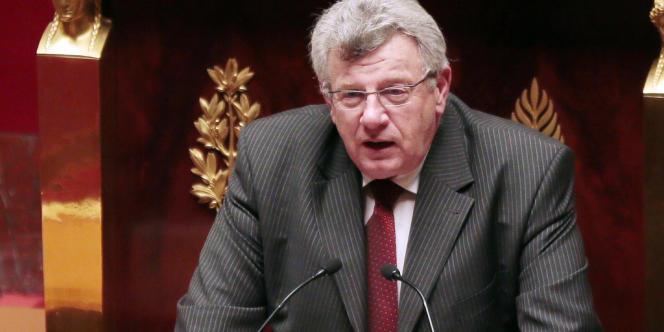 Christian Eckert, rapporteur général (PS) du budget, le 12 février à l'Assemblée.