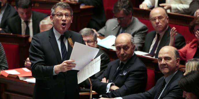 Vincent Peillon à l'Assemblée nationale, le 20 février 2013.