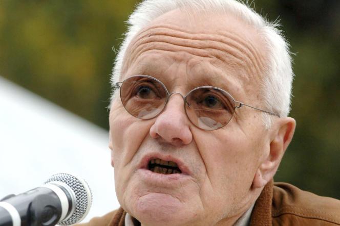L'ancien président du conseil constitutionnel Pierre Mazeaud, ici en 2007.