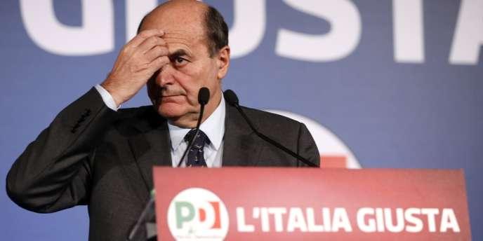 Pier Luigi Bersani, à Rome, le 26 février.