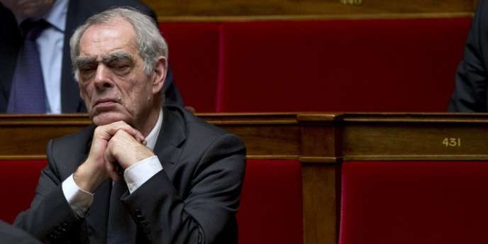 Henri Emmanuelli, député des Landes, à l'Assemblée le 6 février 2013.