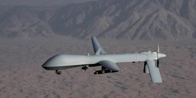 Un drone américain MQ-1 Predator.