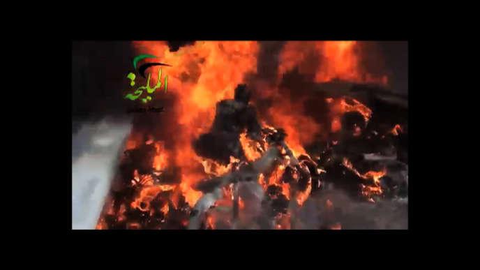 Une image de l'un des films sur la Syrie diffusés à la télévision, du 1er au 20 mars 2013.