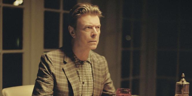 David Bowie dans le clip de l'une des chansons de son nouvel album,