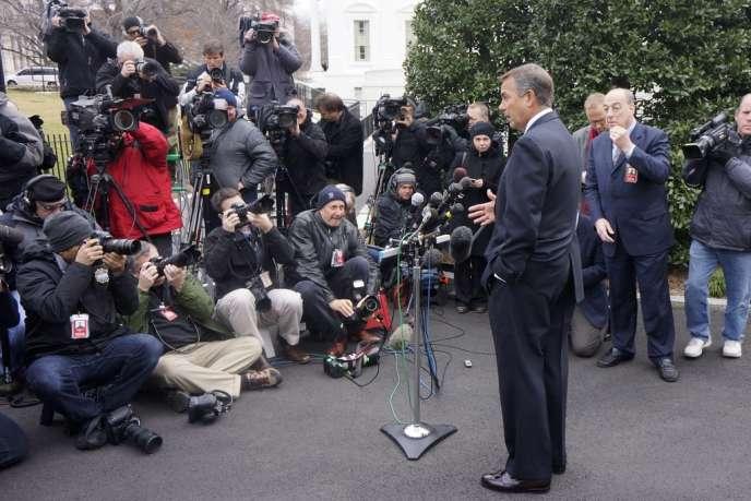 Le John Boehner président de la Chambre des représentants, le 1er mars à Washington.