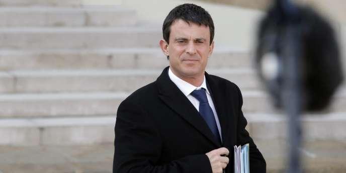 Manuel Valls, le 20 février 2013.
