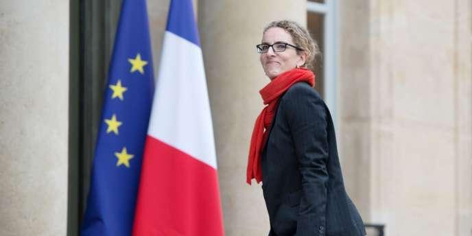Delphine Batho, ministre de l'écologie, du développement durable et de l'énergie, à l'Elysée, le 26 février.