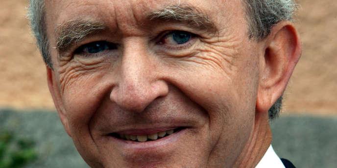 Bernard Arnaud, patron de l'empire du luxe LVMH.