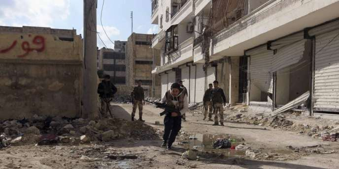 La province d'Alep, presque entièrement tombée dimanche aux mains des insurgés.