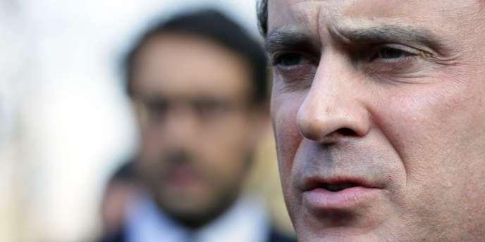 Manuel Valls, le 21 février, à Paris.