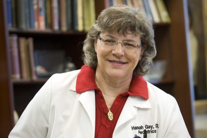 La pédiatre Hannah Gay, de l'université du Mississippi, a pris en charge le nouveau-né quelques heures après sa naissance.